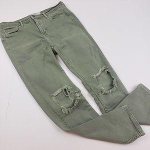 Free People I Distressed Skinny Pants